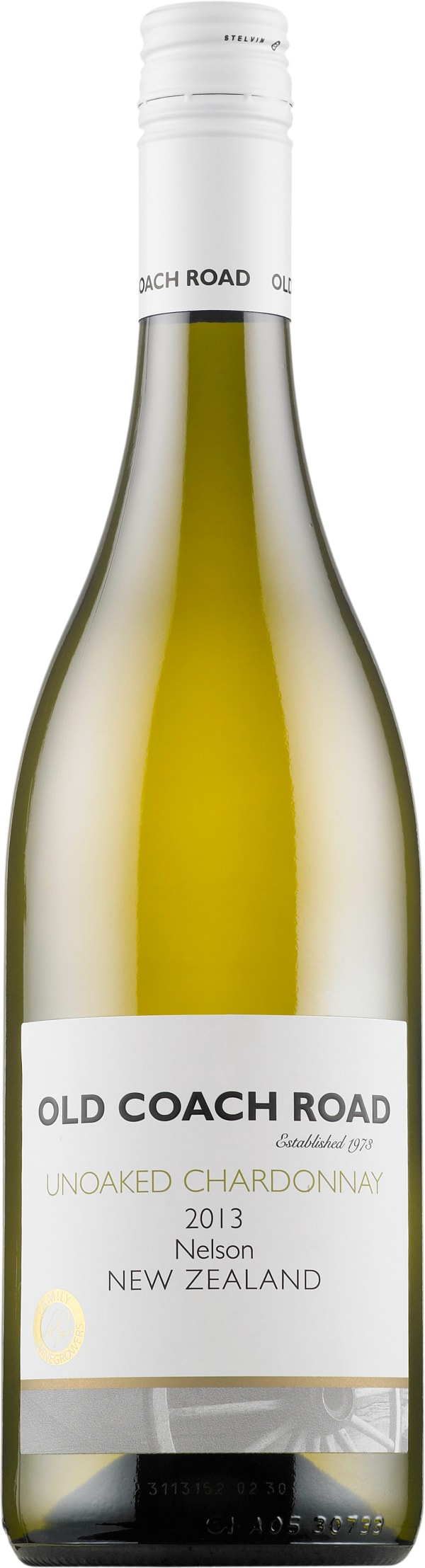 Old Coach Road Unoaked Chardonnay 2018