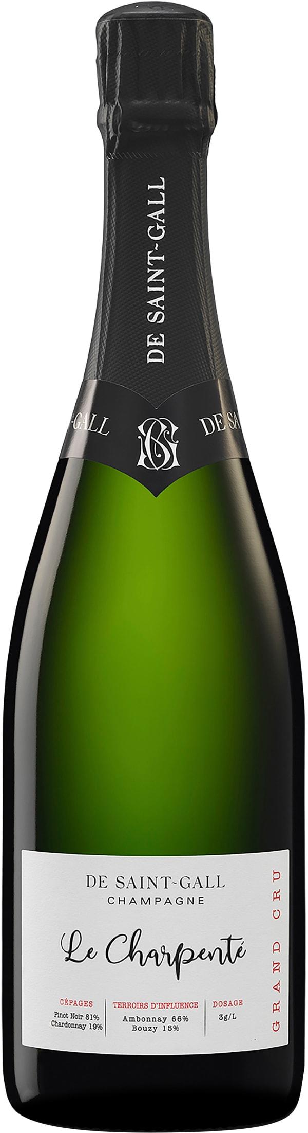 De Saint-Gall Le Charpenté Grand Cru Champagne Extra Brut