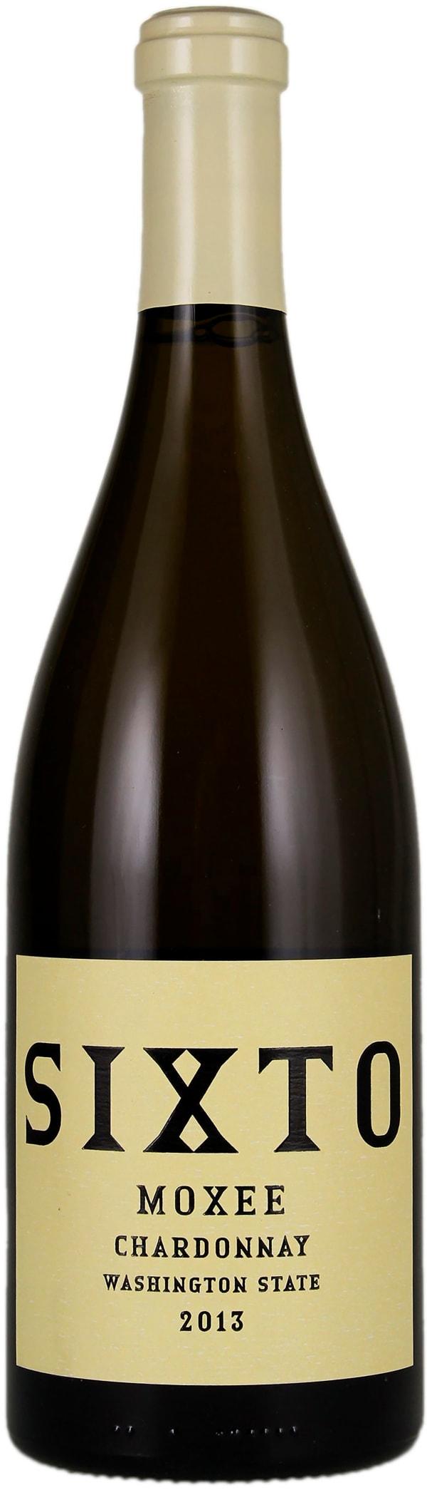 SIXTO Moxee Chardonnay 2013