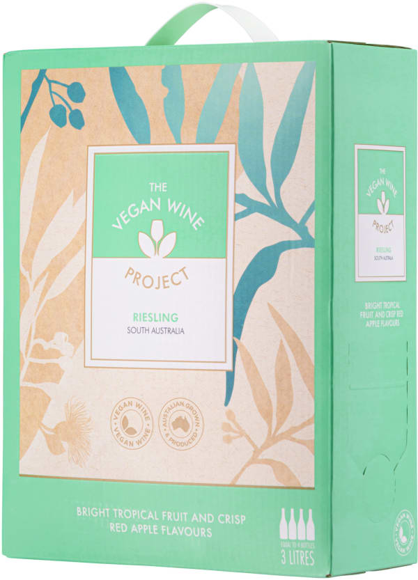 The Vegan Wine Project Riesling 2020 bag-in-box