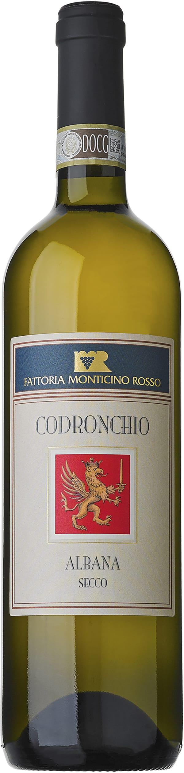 Fattoria Monticino Rosso Codronchio Albana Secco 2015
