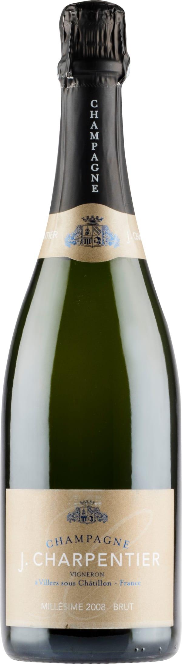 J. Charpentier Millésime Champagne Brut 2008