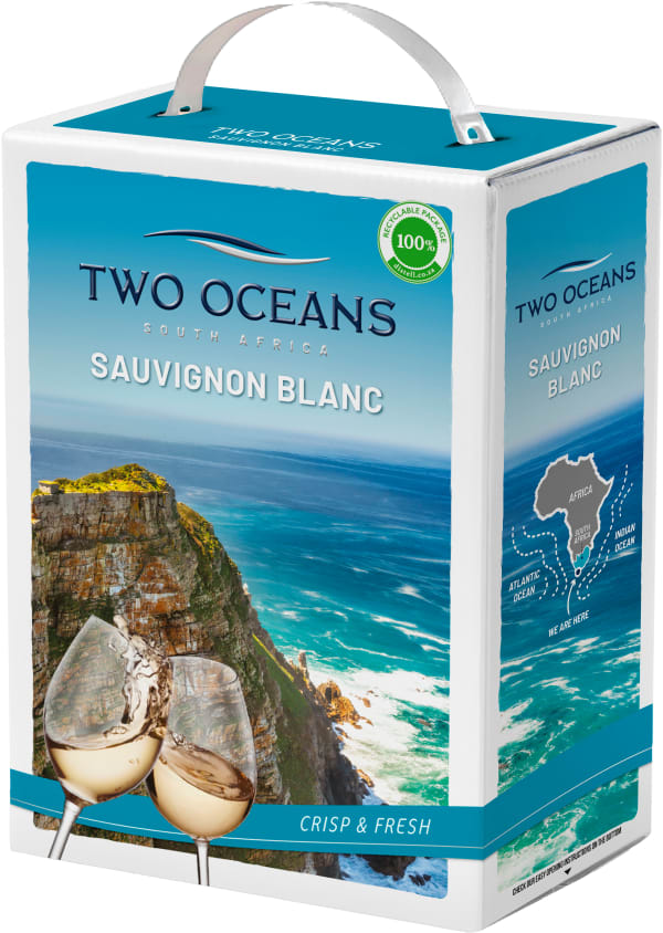 Two Oceans Sauvignon Blanc 2018 hanapakkaus