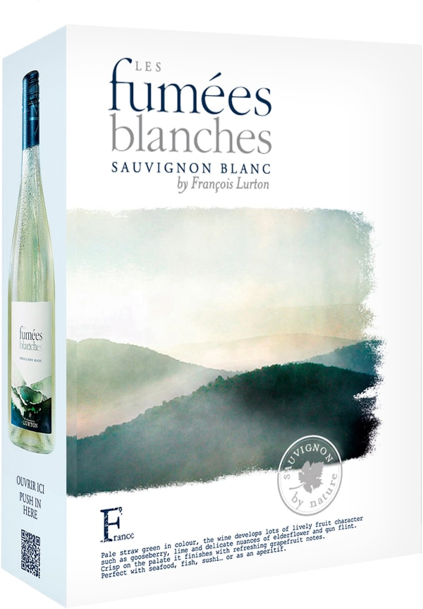 Les Fumées Blanches Sauvignon Blanc 2018 hanapakkaus