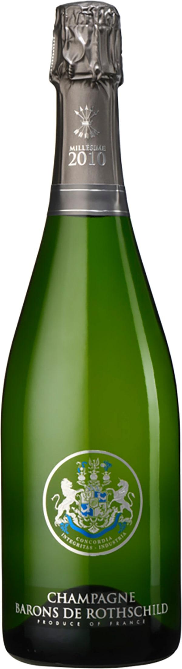 Champagne Barons de Rothschild Brut Millésime 2010