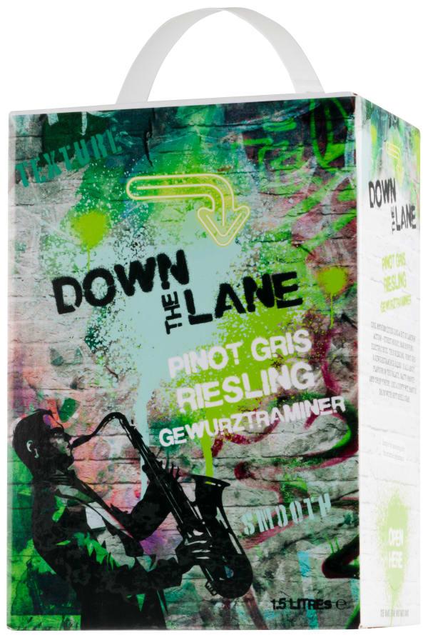 Down the Lane Pinot Gris Riesling Gewürztraminer 2017 bag-in-box
