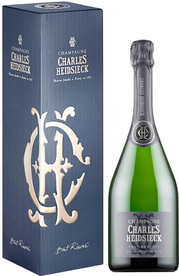 Charles Heidsieck Réserve Champagne Brut lahjapakkaus