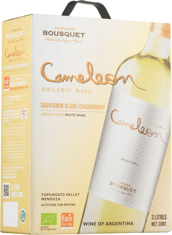 Cameleon Organic Sauvignon Blanc Chardonnay 2017 lådvin