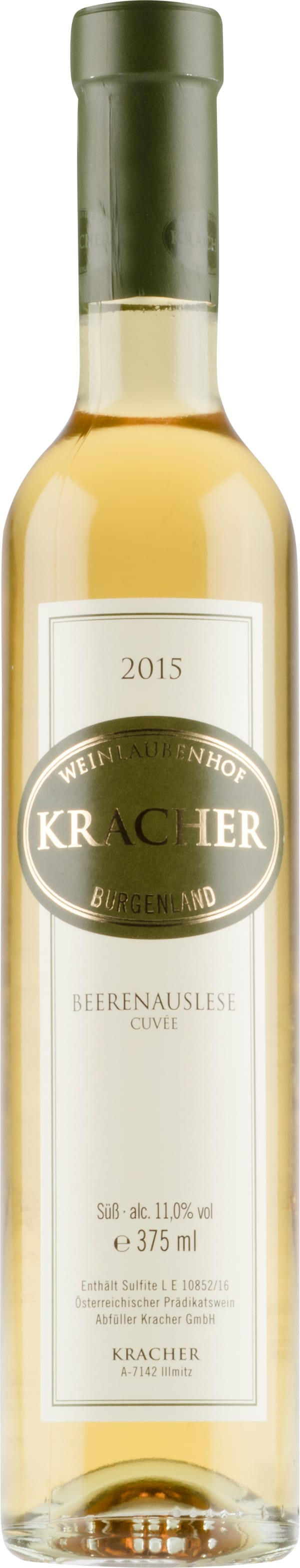 Kracher Cuvée Beerenauslese 2015