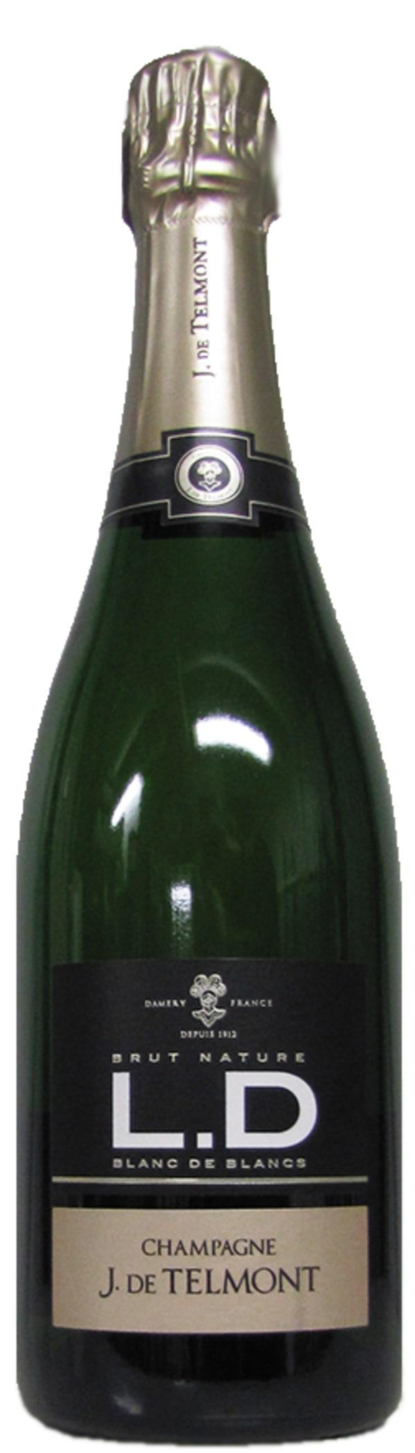 J. de Telmont L.D Blanc de Blancs Champagne Brut Nature