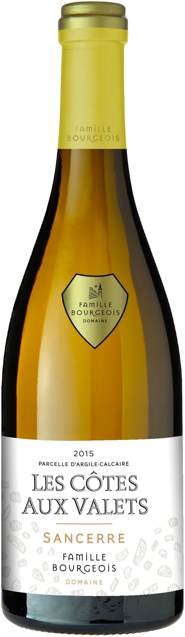 Bourgeois Sancerre Les Côtes aux Valets 2015