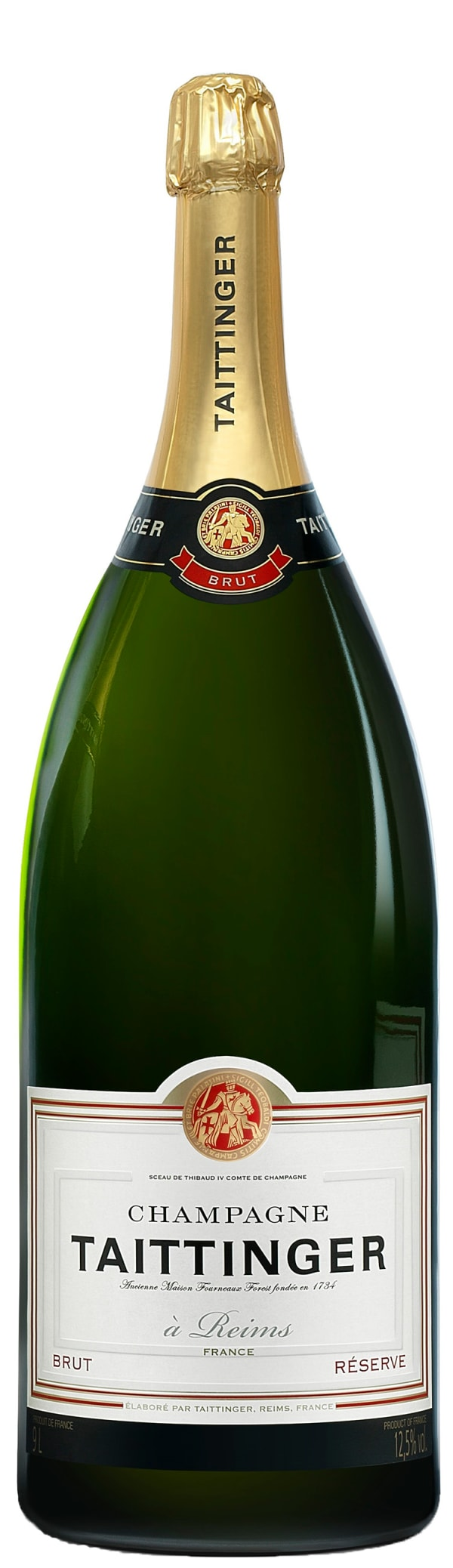 Taittinger Réserve Champagne Brut, Salmanazar