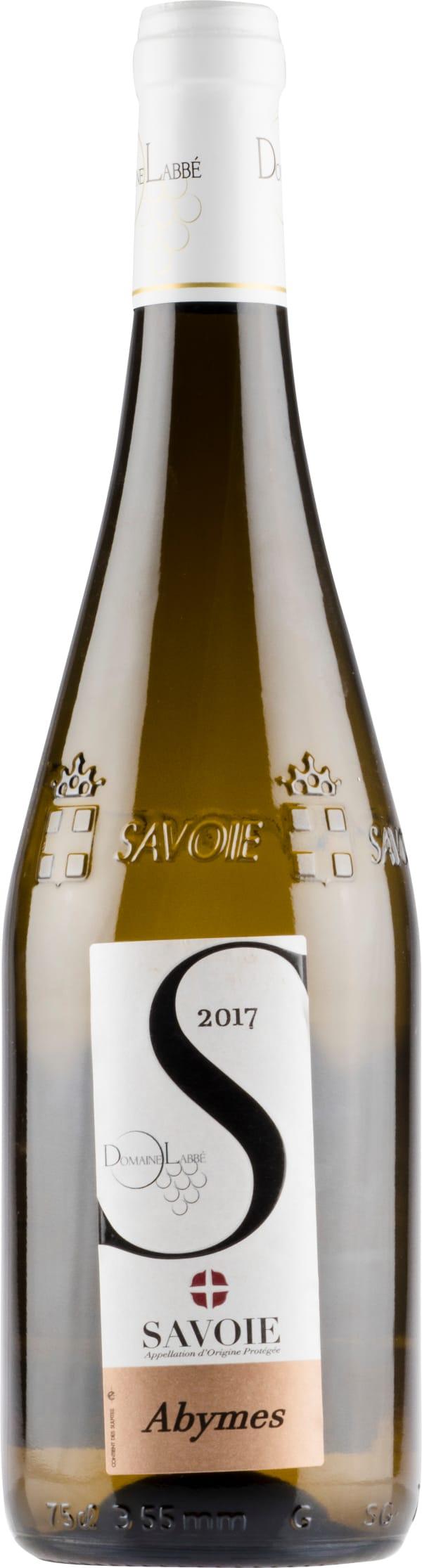 Domaine Labbé Savoie Abymes 2017