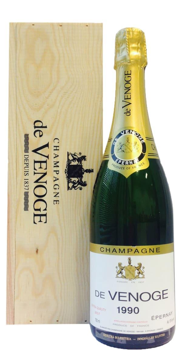 de Venoge Millésimé Champagne Brut 1990