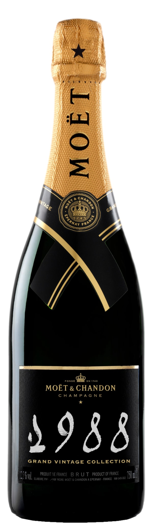 Moët & Chandon Grand Vintage Collection Champagne Brut 1988