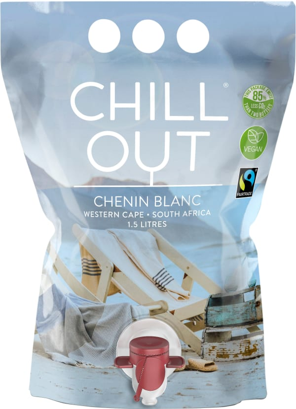 Chill Out Chenin Blanc South Africa 2019 wine pouch