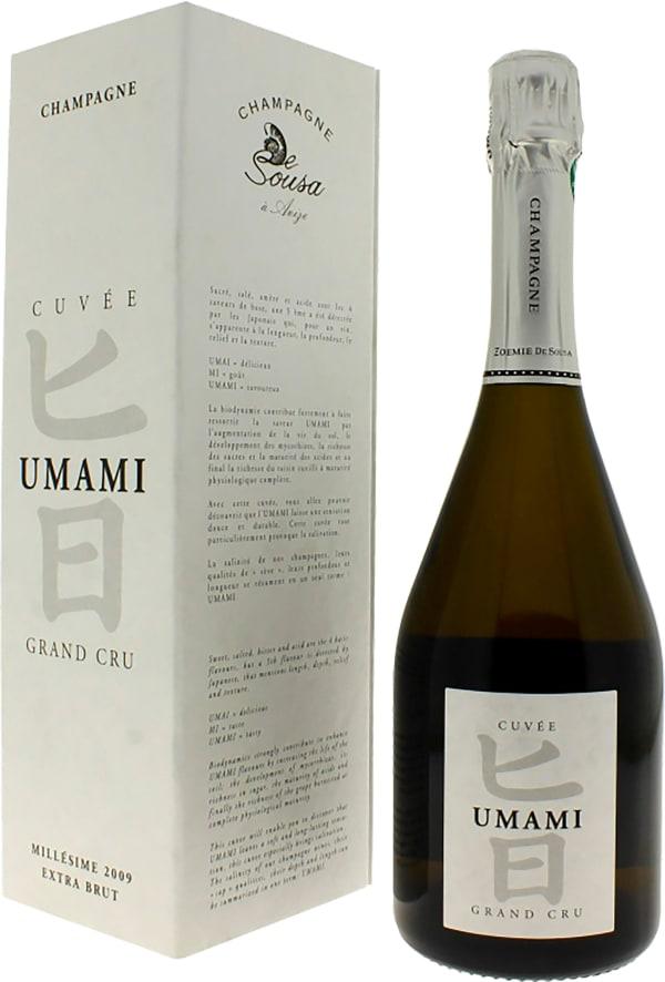 De Sousa Cuvée Umami Grand Cru Millésime Champagne Extra Brut 2009
