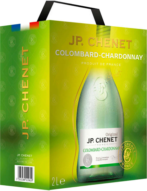 JP. Chenet Colombard Chardonnay 2018 bag-in-box