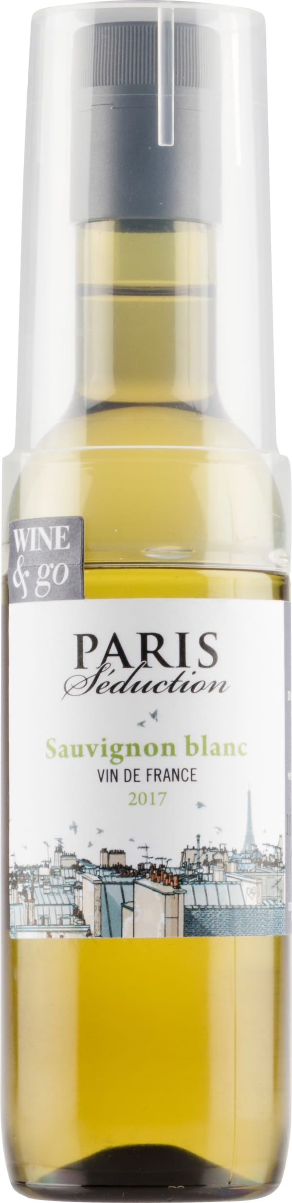 Paris Seduction Sauvignon Blanc 2017 plastflaska