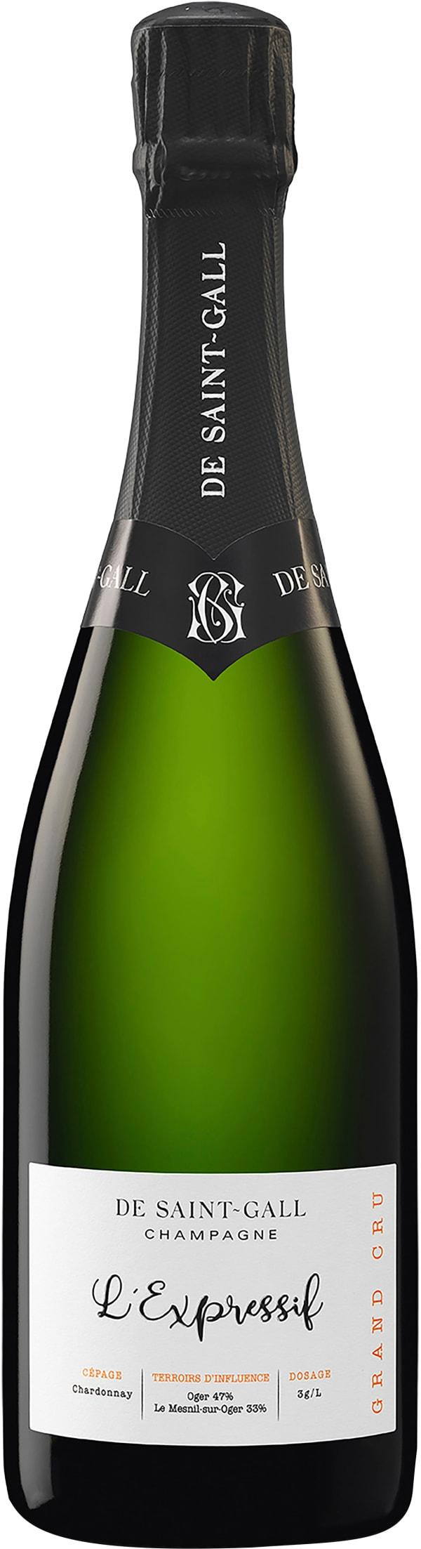 De Saint-Gall L'Expressif Grand Cru Champagne Extra Brut