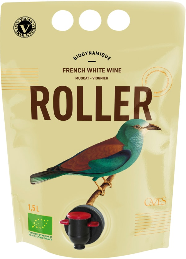 Cazes Roller Muscat Viognier 2018 wine pouch