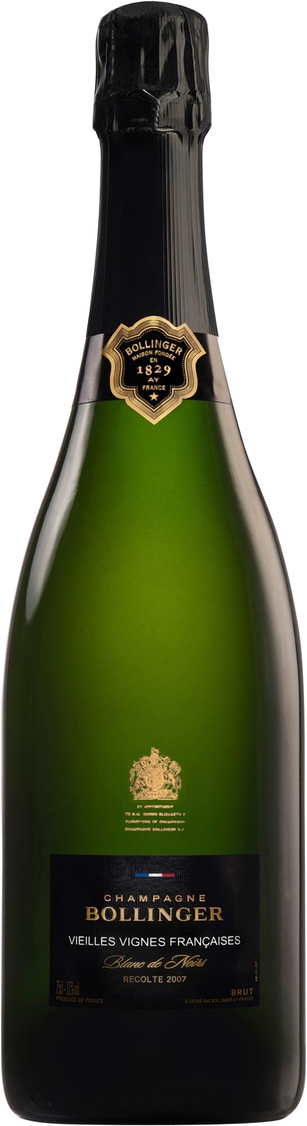 Bollinger Vieilles Vignes Françaises Blanc de Noirs Champagne Brut 2007