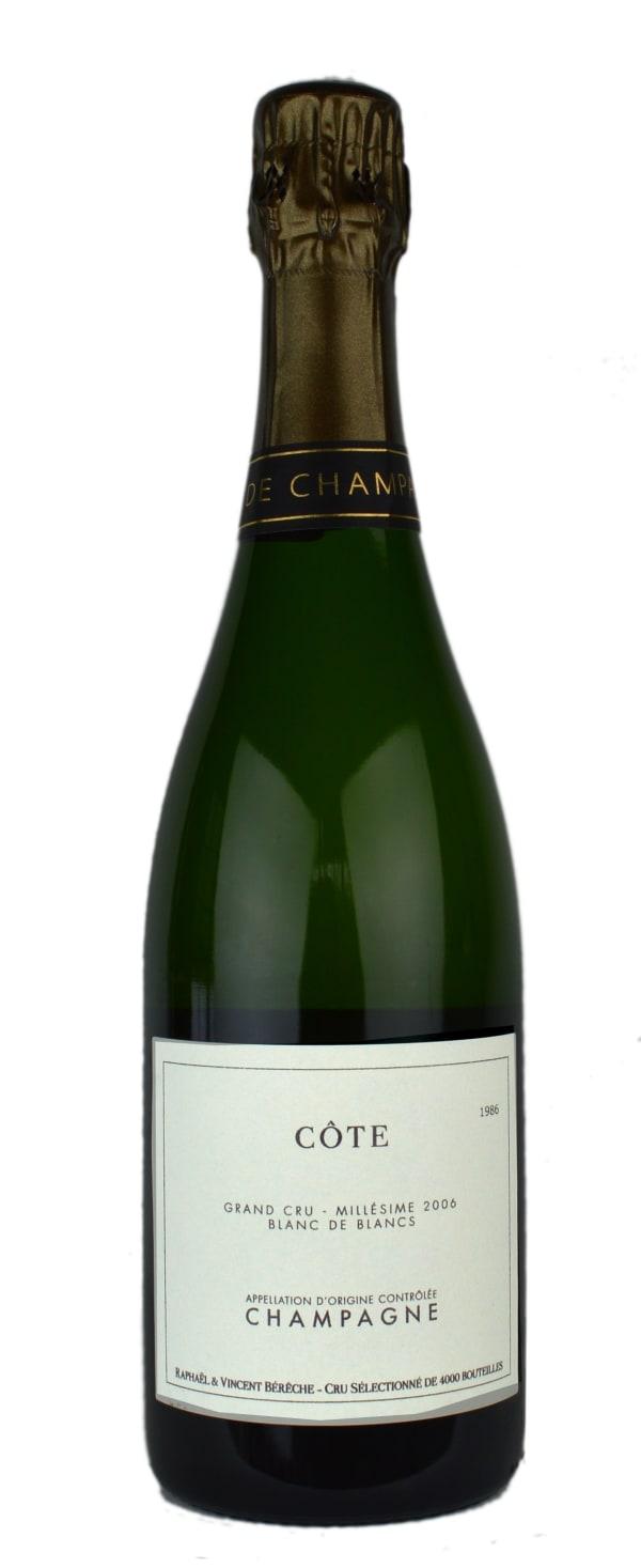 Bérèche Côte Mesnil sur Oger Grand Cru Blanc de Blancs Millésime Champagne Extra Brut 2006