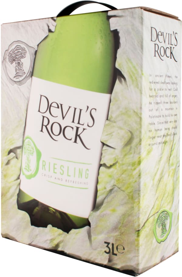 Devil's Rock Riesling 2018 bag-in-box