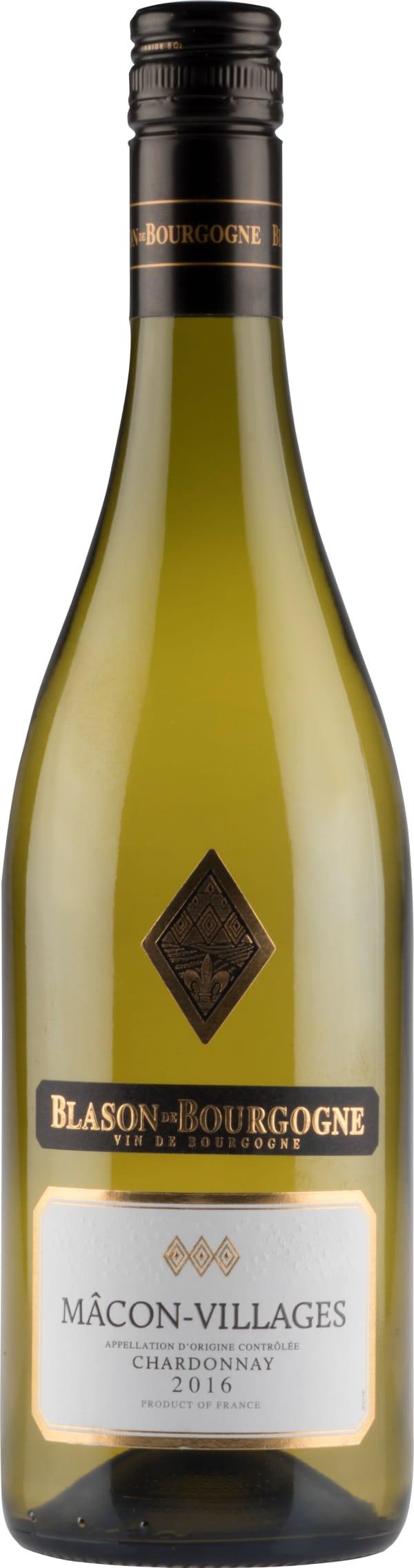 Blason de Bourgogne Mâcon-Villages Chardonnay 2016