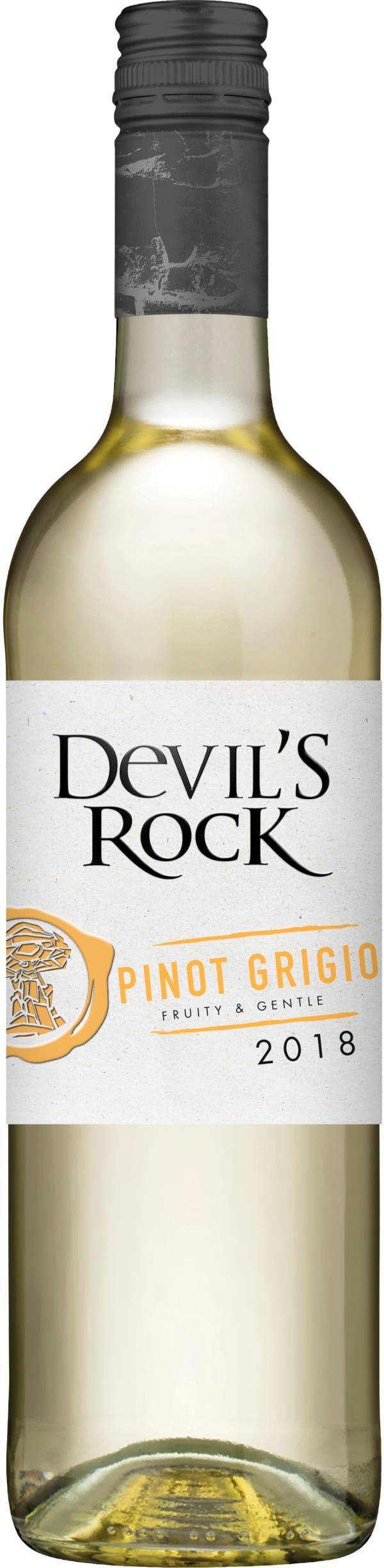 Devil's Rock Pinot Grigio 2018
