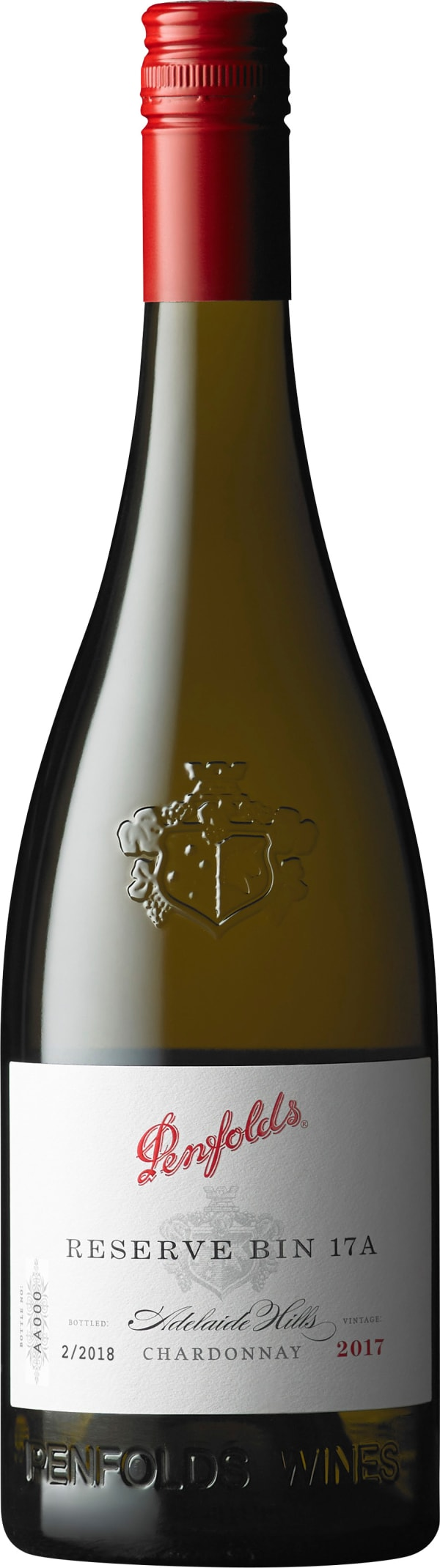 Penfolds Adelaide Hills Chardonnay Reserve Bin 17A 2017
