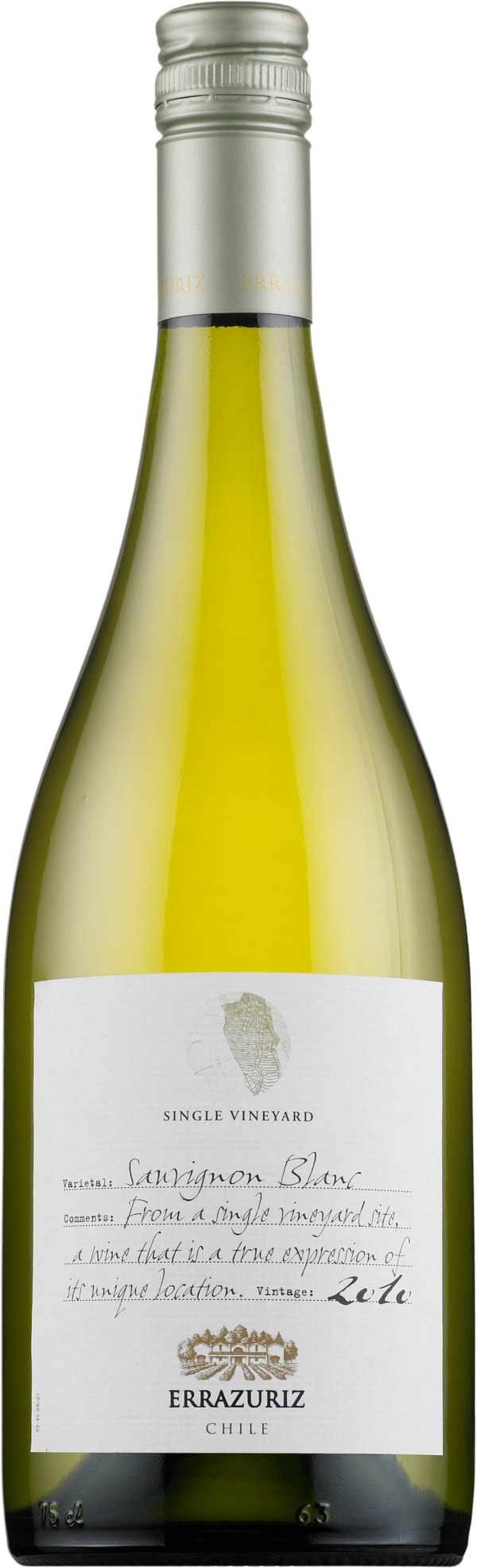 Errázuriz Sauvignon Blanc Single Vineyard 2016