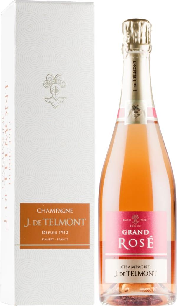 J. de Telmont Grand Rosé Champagne Brut