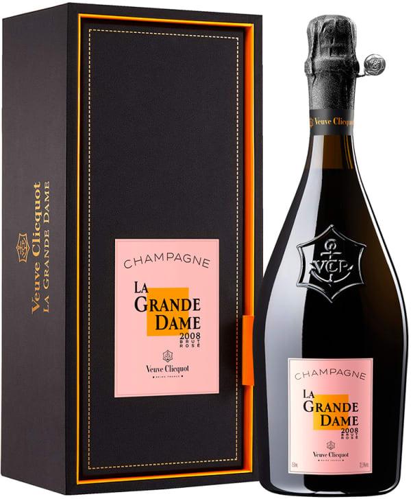 Veuve Clicquot La Grande Dame Rosé Champagne Brut 2008