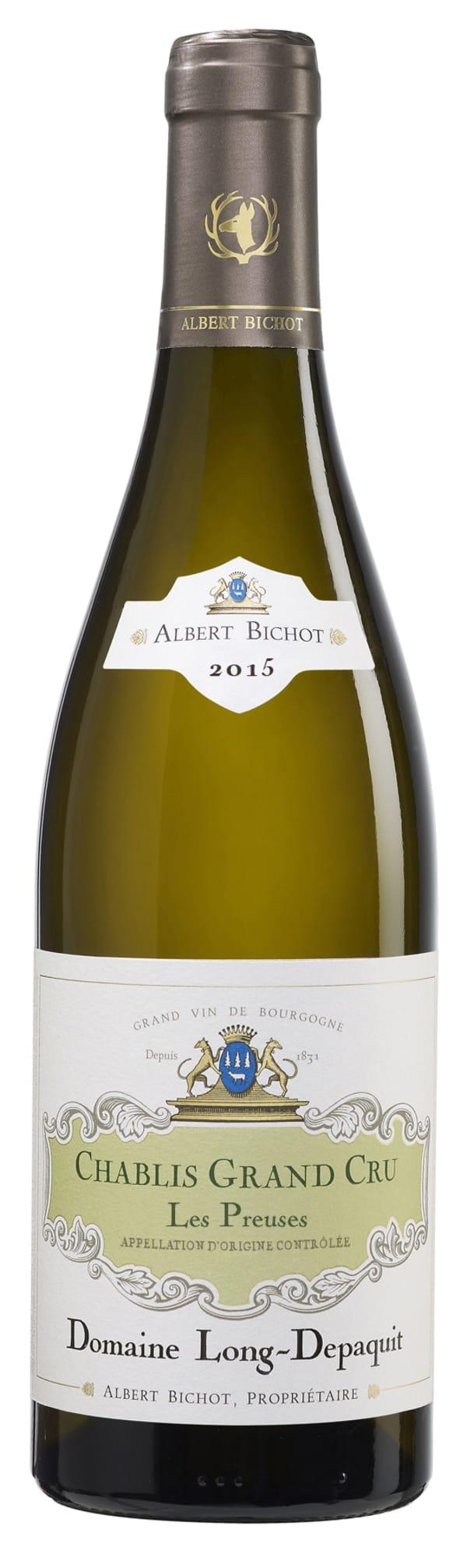 Albert Bichot Domaine Long-Depaquit Chablis Grand Cru Les Preuses 2015