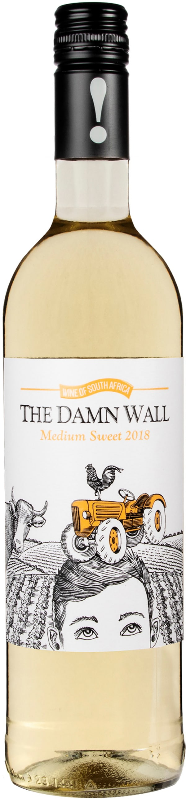 The Damn Wall Medium Sweet 2018