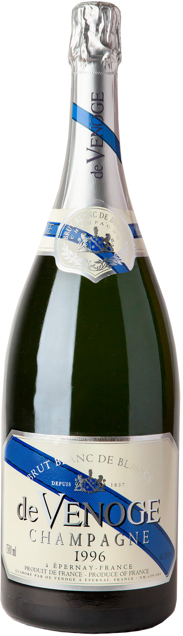 de Venoge Blanc de Blancs Champagne Brut MGM 1996