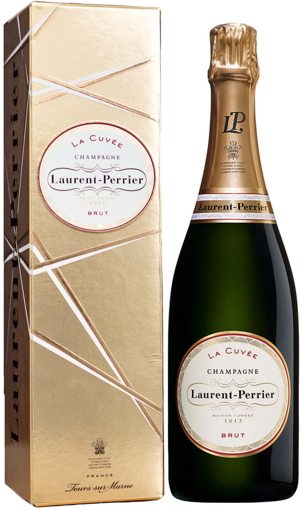 Laurent-Perrier La Cuvée Champagne Brut gift packaging