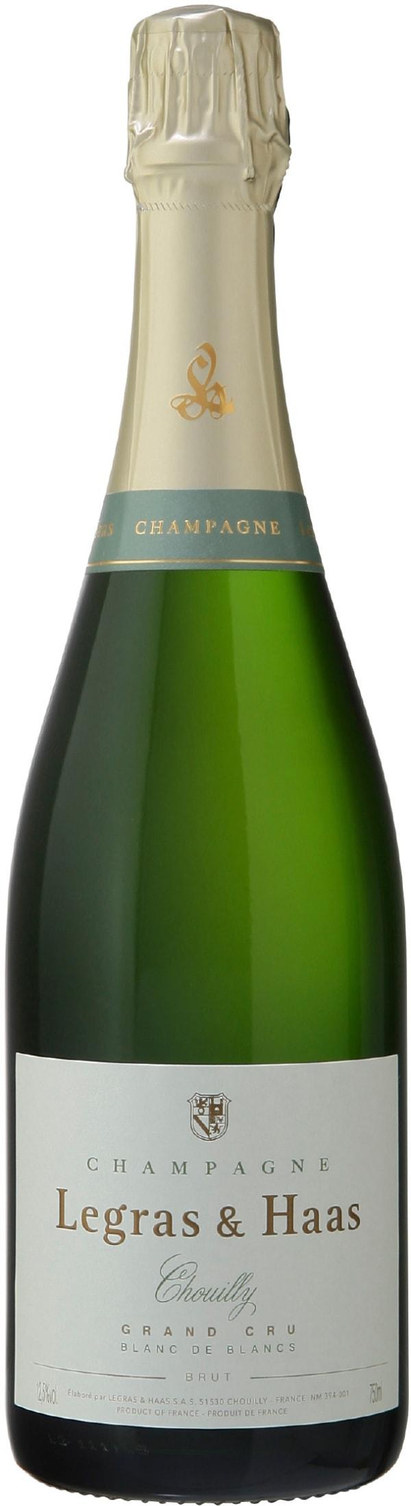 Legras & Haas Chouilly Grand Cru Blanc de Blancs Champagne Brut