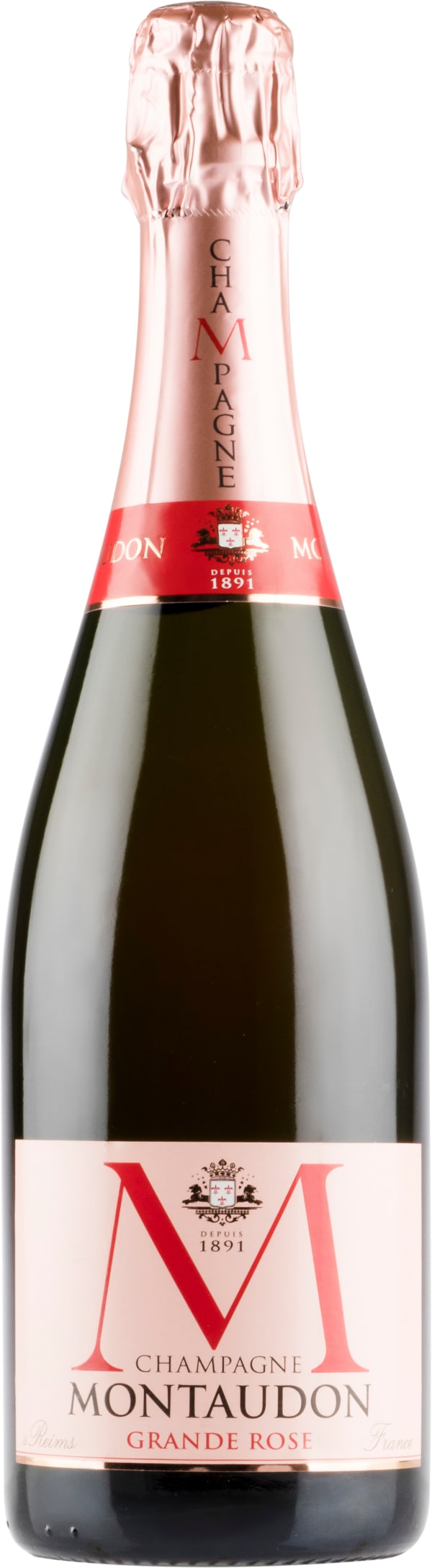 Montaudon Grand Rosé Champagne Brut