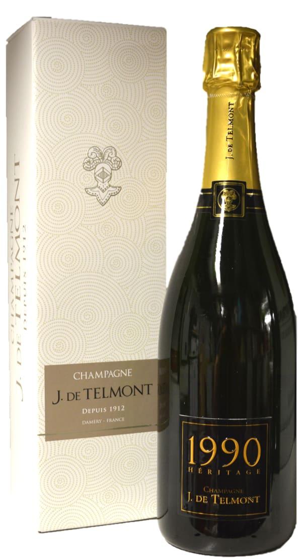J. de Telmont Heritage Champagne Brut 1990