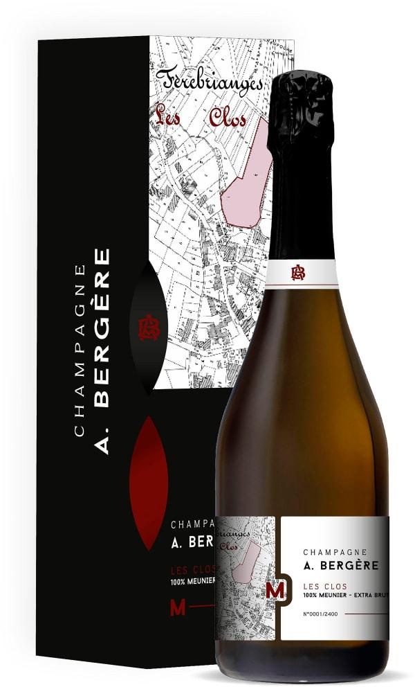 A. Bergère Les Clos 100% Meunier Champagne Extra Brut