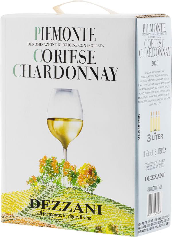 Dezzani Piemonte Cortese Chardonnay 2020 lådvin
