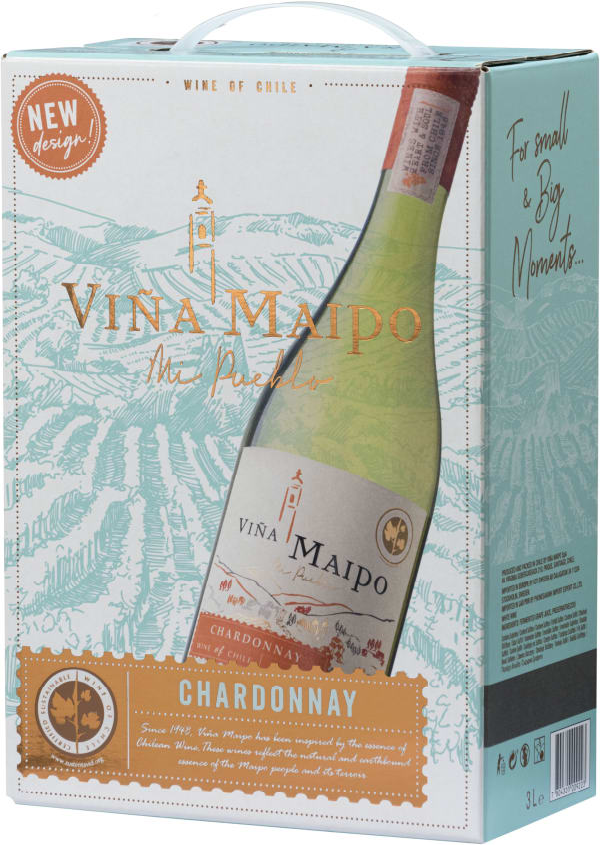Viña Maipo Chardonnay 2018 lådvin