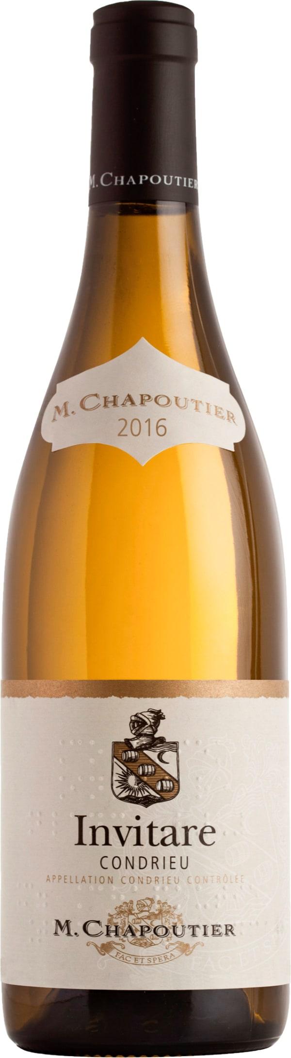 M. Chapoutier Condrieu Invitare 2016