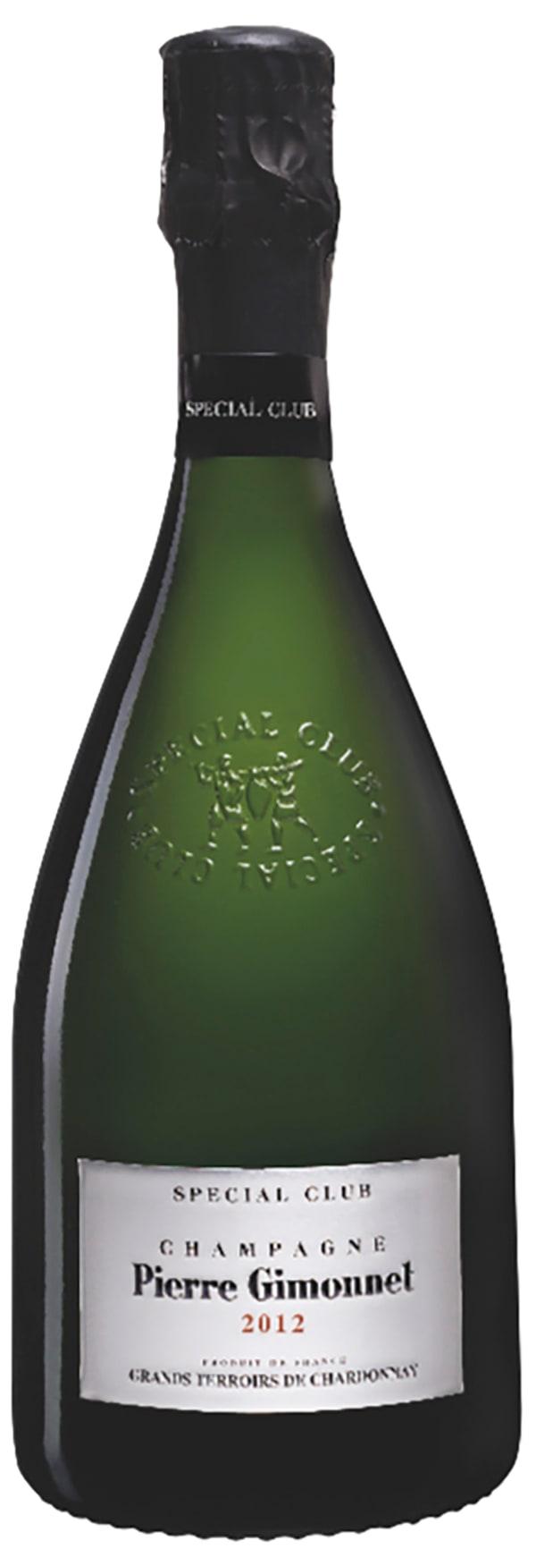 Pierre Gimonnet Special Club Grands Terroirs de Chardonnay Champagne Brut 2012