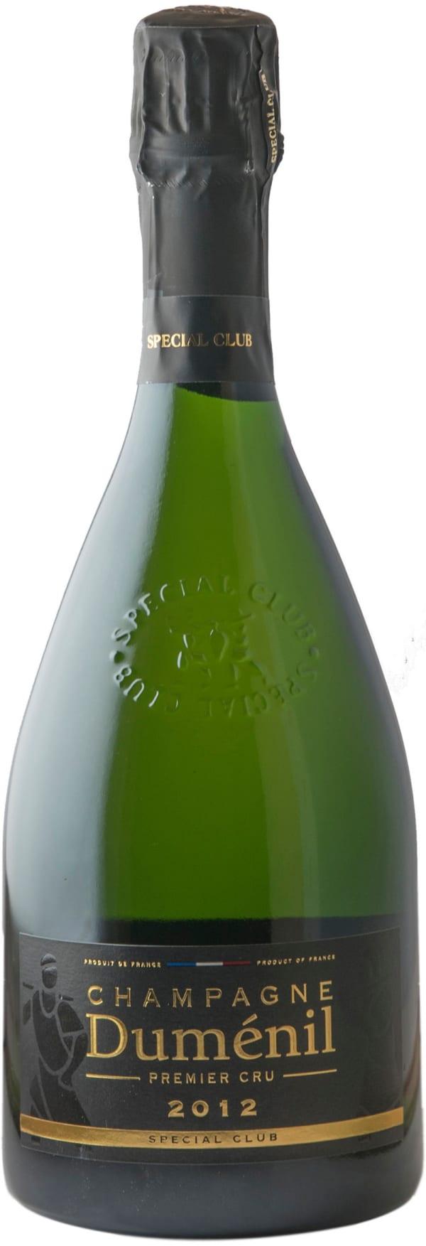 Duménil Special Club Premier Cru Champagne Brut 2012