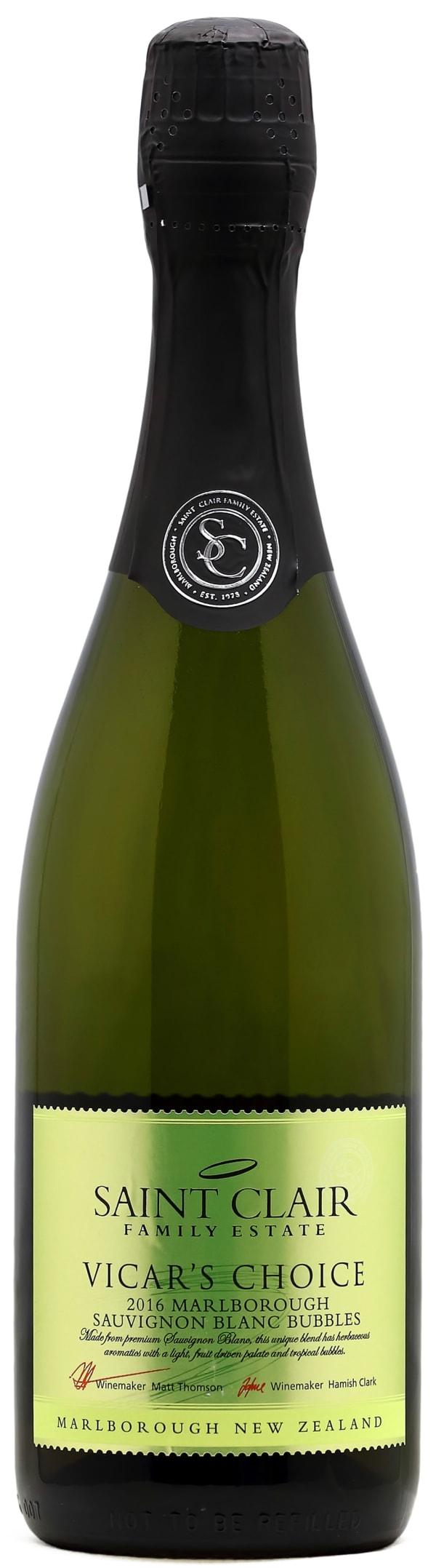 Saint Clair Vicar's Choice Sauvignon Blanc Bubbles Brut 2018