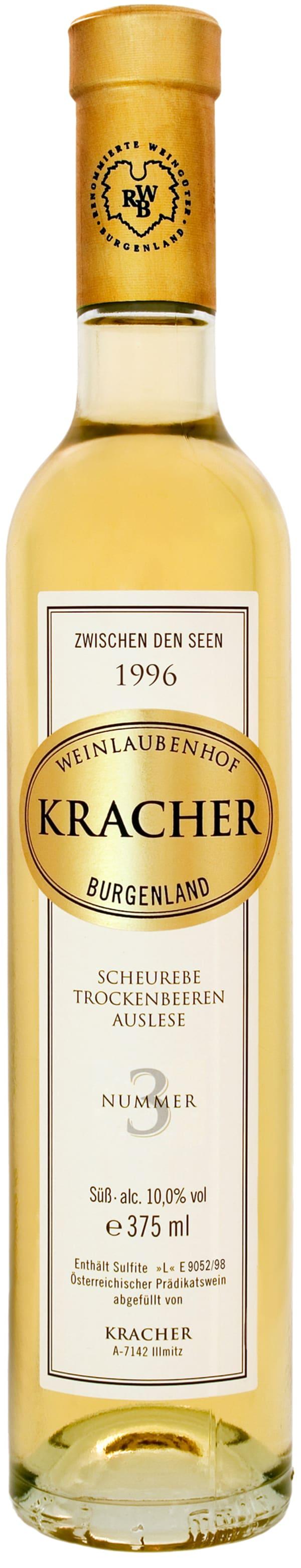Kracher Scheurebe Trockenbeerenauslese Nummer 3 1996