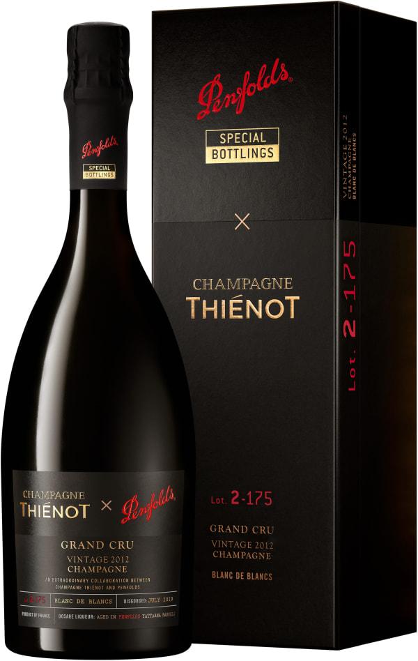 Champagne Thiénot X Penfolds Lot 2-175 Grand Cru Blanc de Blancs Vintage Champagne Extra Brut 2012